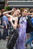 bright colors fashion models white Στοκ φωτογραφίες με δικαίωμα ελεύθερης χρήσης
