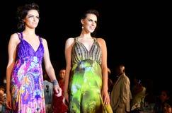 bright colors fashion models white Στοκ εικόνες με δικαίωμα ελεύθερης χρήσης