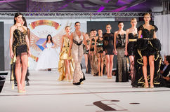 bright colors fashion models white Στοκ Φωτογραφία