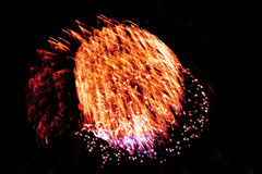 bright colors fireworks -  beautiful colorful firework isolated Royalty Free Stock Images