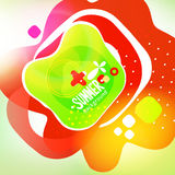 Bright colors fun design background Royalty Free Stock Photo