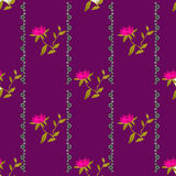 Bright colors geometrical floral pattern texture background Royalty Free Stock Images