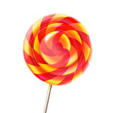 Bright colors lollipop candy Stock Images