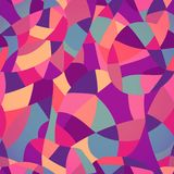 Bright colors mosaic seamless pattern, vector illustration looks Stock Photography
