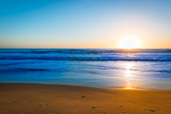 Bright colors of sunset. Royalty Free Stock Photos