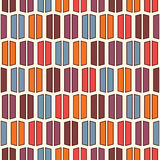 Bright colors vertical lines background. Stylized macaroon abstract wallpaper. Seamless pattern with geometric ornament. Stock Photography