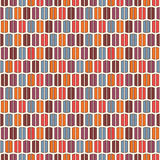 Bright colors vertical lines background. Stylized macaroon abstract wallpaper. Seamless pattern with geometric ornament. Royalty Free Stock Image