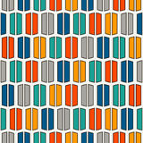 Bright colors vertical lines background. Stylized macaroon abstract wallpaper. Seamless pattern with geometric ornament. Royalty Free Stock Photography
