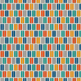 Bright colors vertical lines background. Stylized macaroon abstract wallpaper. Seamless pattern with geometric ornament. Royalty Free Stock Images