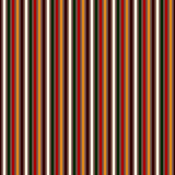 Bright colors vertical stripes abstract background. Thin slanting line wallpaper. Seamless pattern with classic motif. Stock Photography