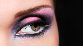 Bright colors of woman eyes Royalty Free Stock Photo
