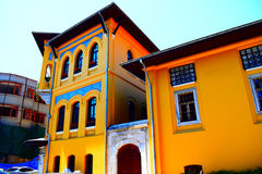 Colourful architecture building ,Turkey royalty free stock images