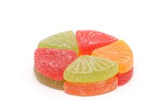 Bright colour sweets. Stock Images