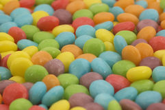 Bright coloured candy sweets Royalty Free Stock Image