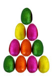 Easter Eggs Isolated 3 Stock Photography