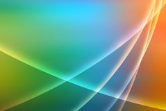 Bright rainbow background. Bright colourful background with shapes Royalty Free Stock Photography