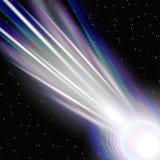 Bright comet Stock Image