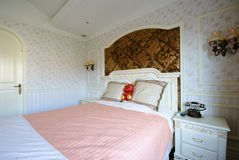 Bright and comfortable bedroom Royalty Free Stock Photo