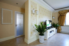 Bright and comfortable room. Entryway Stock Photos