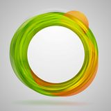 Bright concept circles vector abstract design Royalty Free Stock Photo