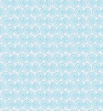 Bright contour spiral seamless pattern  Decorative Stock Image