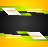 Bright contrast tech corporate background. Vector graphic design Royalty Free Stock Photo