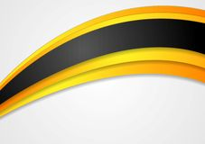 Bright corporate vector background Stock Image