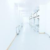 Bright corridor Stock Images