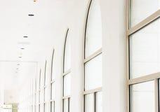 Bright corridor stock photography