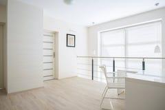 Bright corridor on mezzanine floor Stock Photography