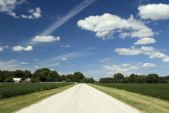 Bright Country Road Stock Photos