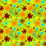 Bright and crazy summer pattern Royalty Free Stock Image