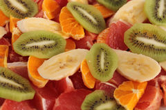 Fruits. Bright cu deliciously delightful eats food fruit grapefruit harvest healthy Royalty Free Stock Image