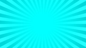 Bright cyan rays background Stock Photo