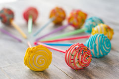 Bright decorated sweets. Royalty Free Stock Photos