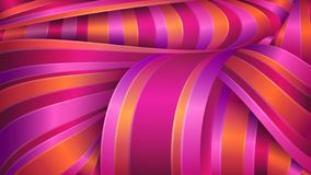 Abstract geometric background. Shiny satin fabric. Violet and red ribbons. vector illustration