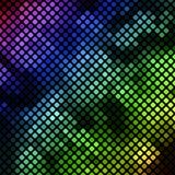 Bright diagonal mosaic in bokeh effect Royalty Free Stock Image