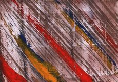 Bright diagonal painting lines stock photo