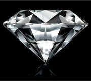 Bright diamond illustration Stock Image