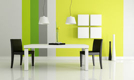 Bright dining room Royalty Free Stock Photos