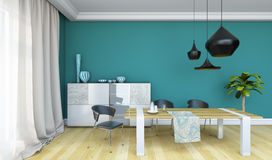 Bright Dining Room Stock Photos