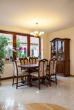 Bright dining room Royalty Free Stock Photography