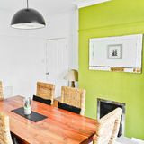 Bright dining room interior Stock Photography