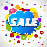 Bright  Discount banner. Stock Image
