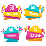 Bright discount Royalty Free Stock Photo