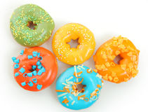 Bright donuts Royalty Free Stock Images