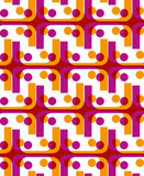 Bright dotted seamless pattern with jolly dots Royalty Free Stock Photography