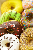 Bright doughnuts Royalty Free Stock Images