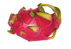 Bright dragon fruit isolated on white Royalty Free Stock Images