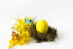Bright Easter composition Stock Image